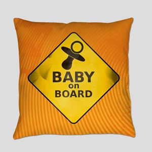Baby on Board Everyday Pillow